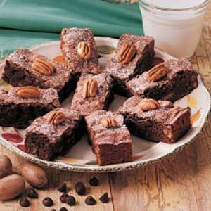 Moist Cake Brownies