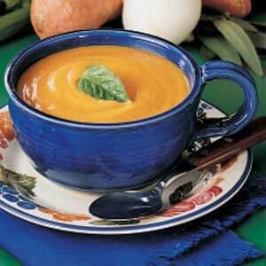 Harvest Sweet Potato Soup