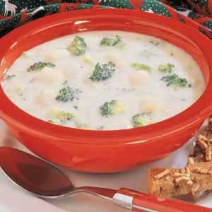 Creamy Broccoli Potato Soup