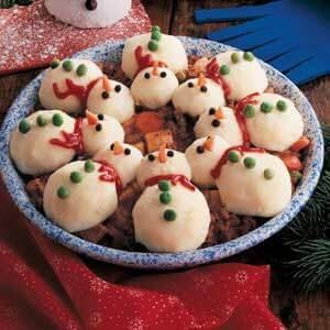 Snowman Party Stew