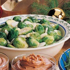 Dijon-Dill Brussels Sprouts