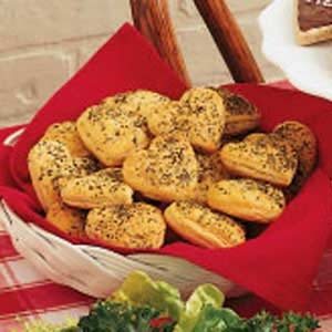 Heart-Shaped Herbed Rolls
