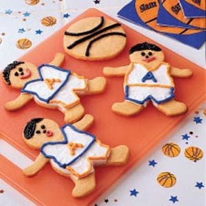 Butterscotch Basketball Cookies