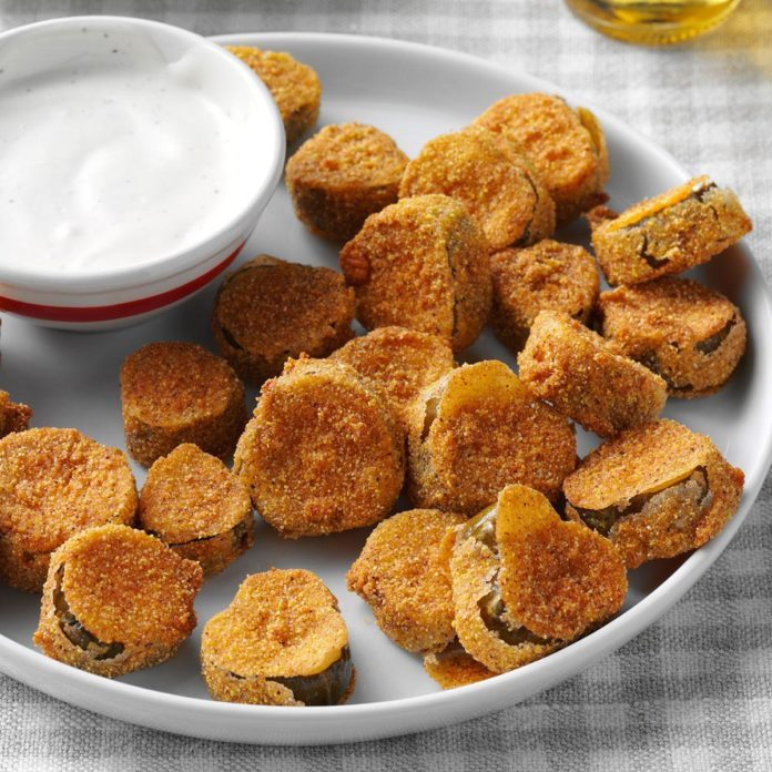 Inspired by: Fried Pickles