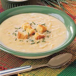 Creamy Swiss Onion Soup