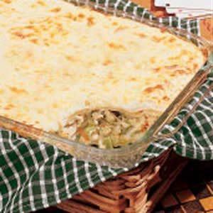 Chicken Broccoli Lasagna