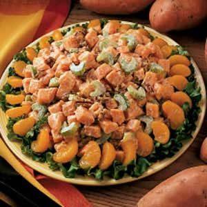 Southern Sweet Potato Salad
