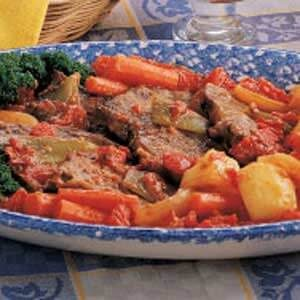 Swiss Steak Supper