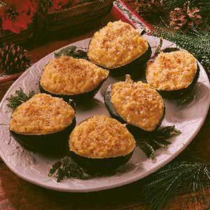 Onion-Stuffed Acorn Squash