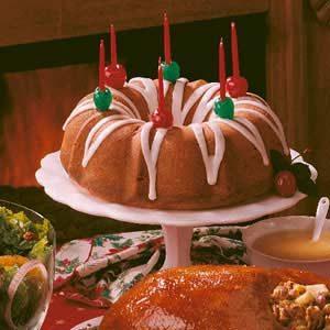 Holiday Gift Cake