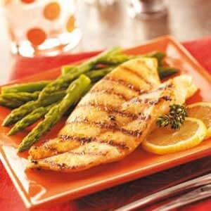 Herbed Orange Roughy