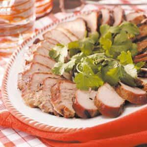 Cilantro Pork Tenderloin