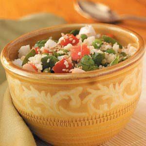 Couscous Seafood Side Salad