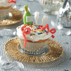 New Year's Eve Cupcakes Recipe | Taste of Home