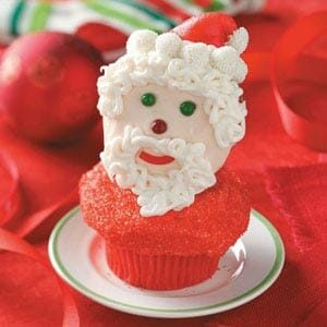 St. Nick Cupcakes