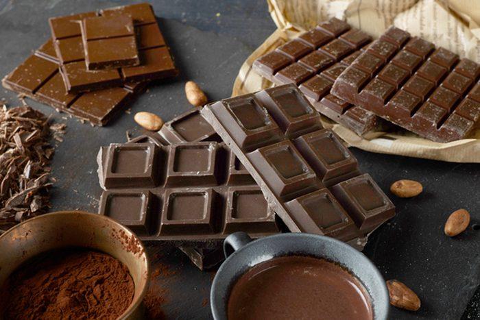 Dark chocolate bars; Shutterstock ID 357987926; Job (TFH, TOH, RD, BNB, CWM, CM): Taste of Home