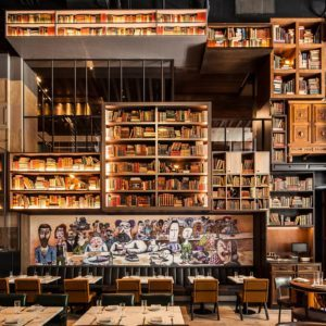 You Have No Idea Just How Much Effort Goes Into a Restaurant Library