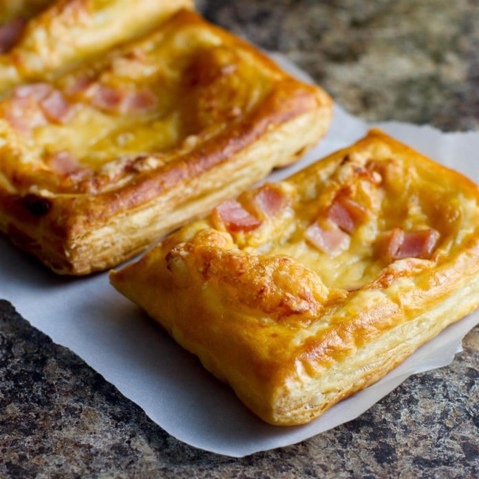 Canadian Bacon and Cheese Savory Tarts