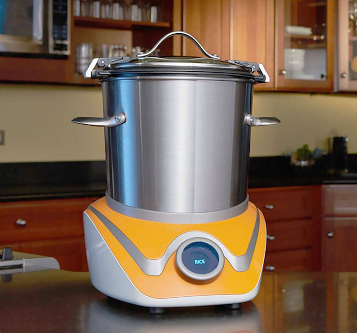 A Kitchen That Brings It All Together In Blackburn: This Crazy Cool Kitchen Gadget Does All The Cooking For