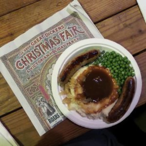 Lunch at The Great Dickens Christmas Fair