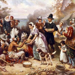 You Won't Believe What Thanksgiving Staple Wasn't at the First Thanksgiving