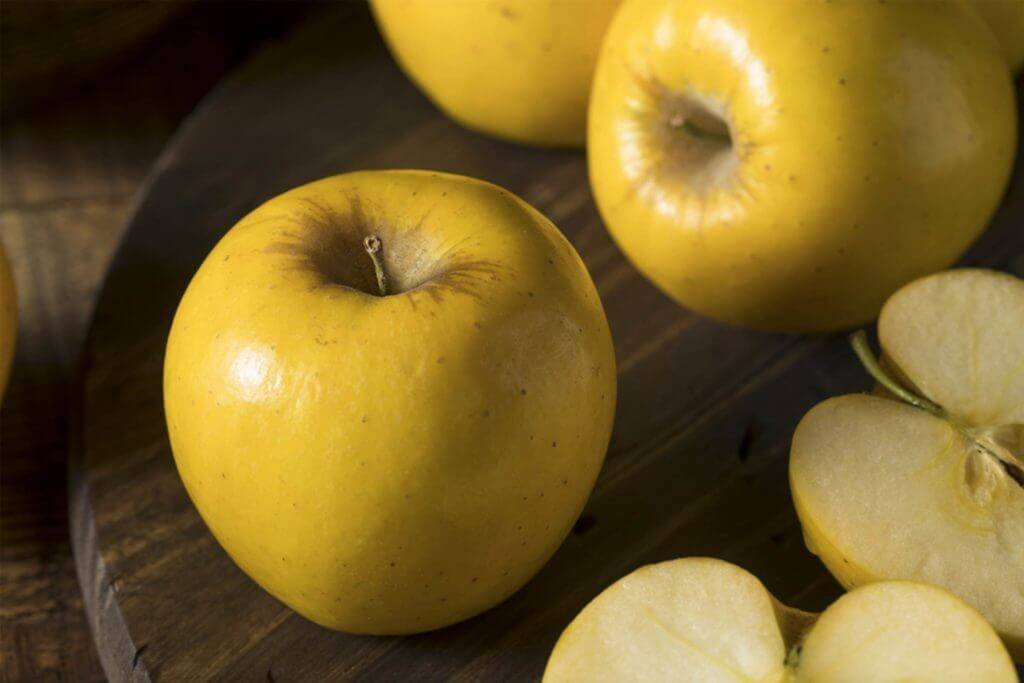 Yellow Opal apples