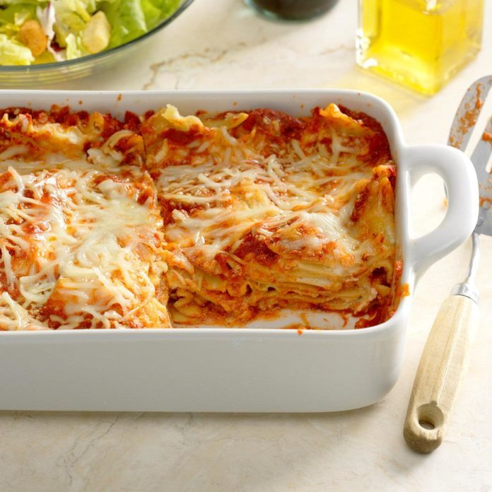 Weeknight Lazy Lasagna