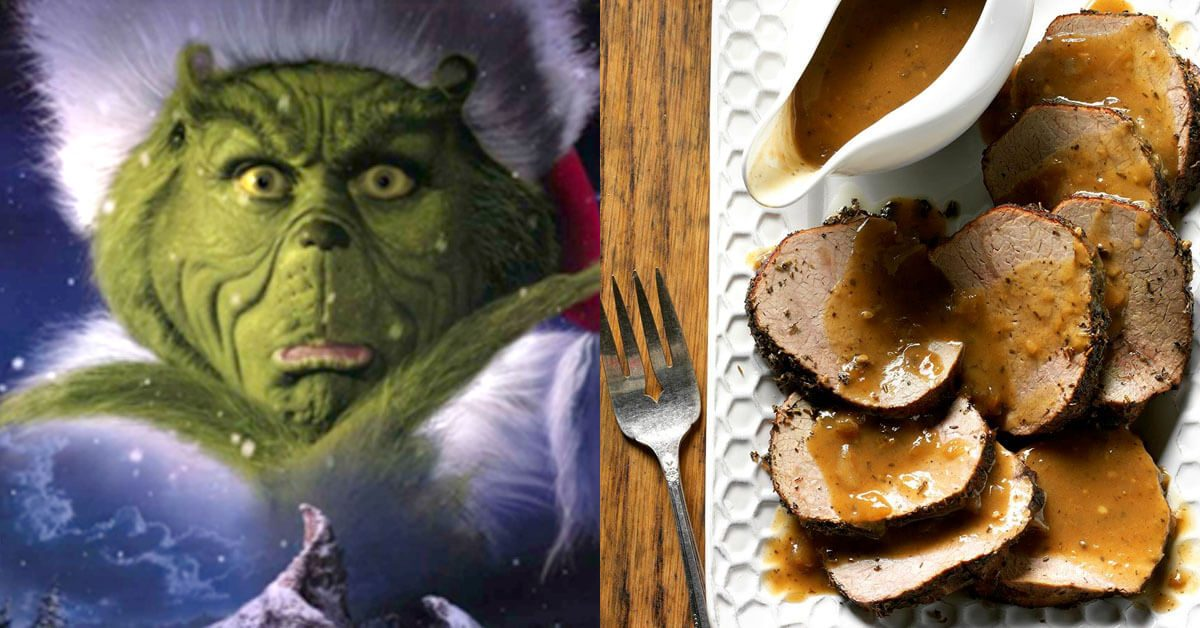 Recipe inspired by The Grinch Who Stole Christmas
