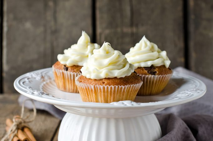 Cupcakes with cream cheese