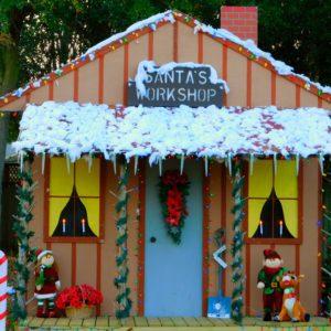 Decorative Santa workshop
