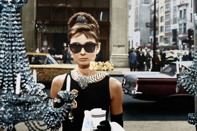 Audrey Hepburn Breakfast At Tiffany's - 1961