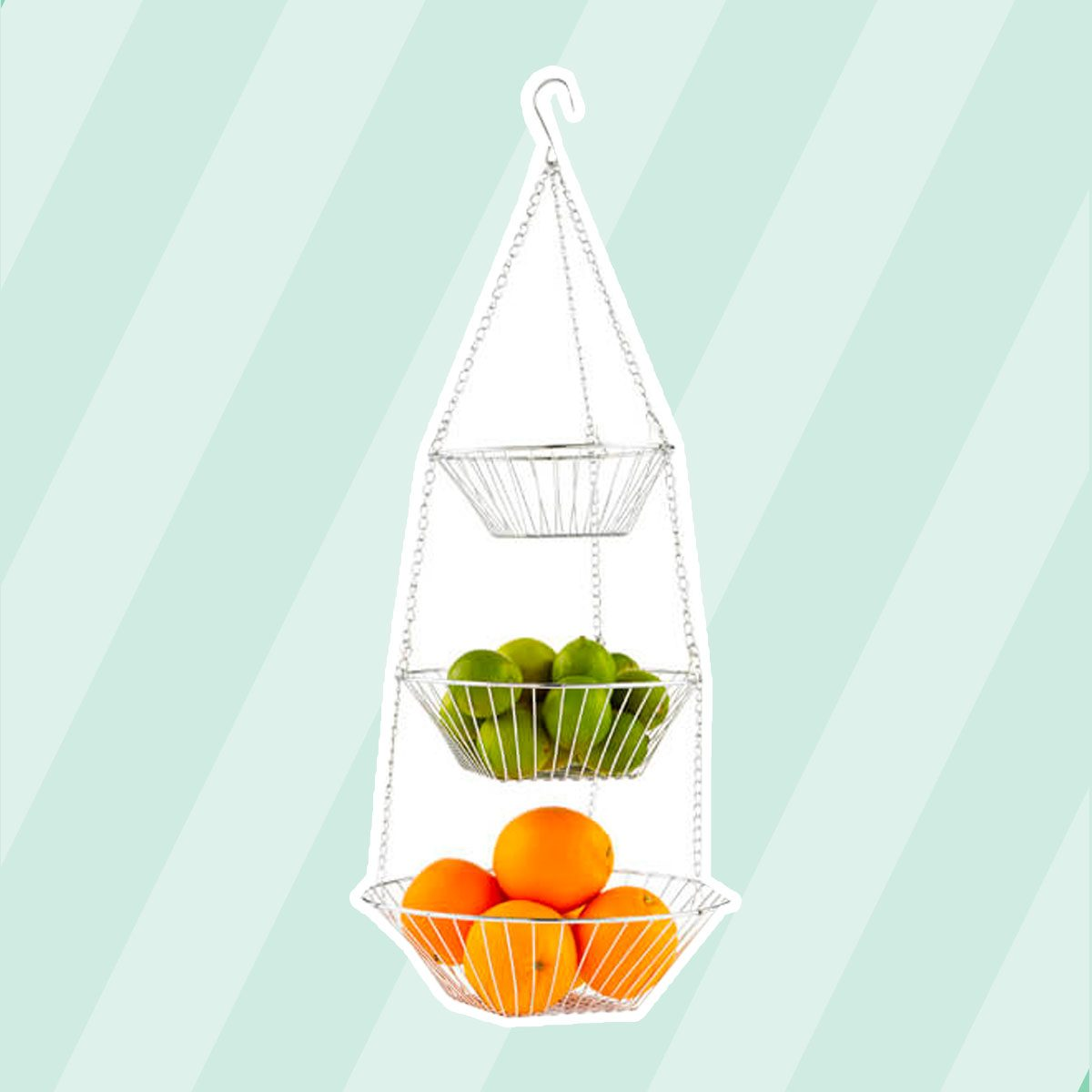 Tier hanging basket