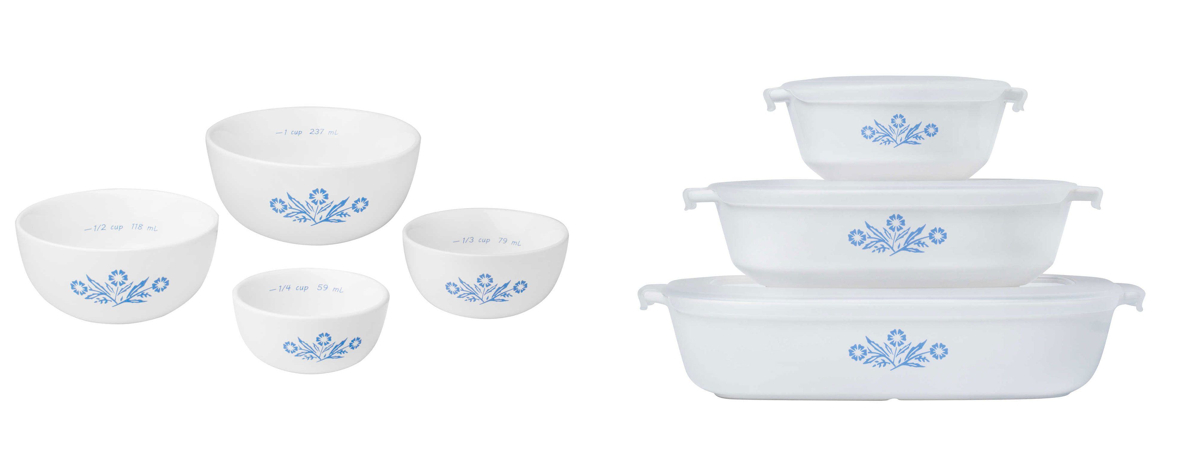 Blue And White Corningware Is Back Heres What You Need To Know