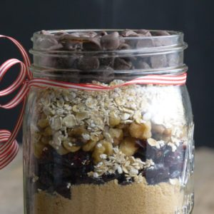 Need a Last Minute Gift? This Homemade Cookie Mix Couldn't Be Sweeter.