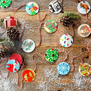 10 Holiday Crafts to Make Using Old Christmas Cards