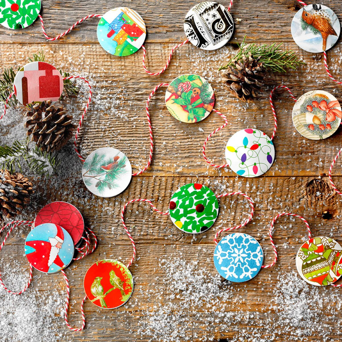 10 Christmas Card Crafts To Make With Last Year's Cards