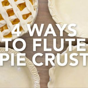4 Stunning Ways to Flute Pie Crust
