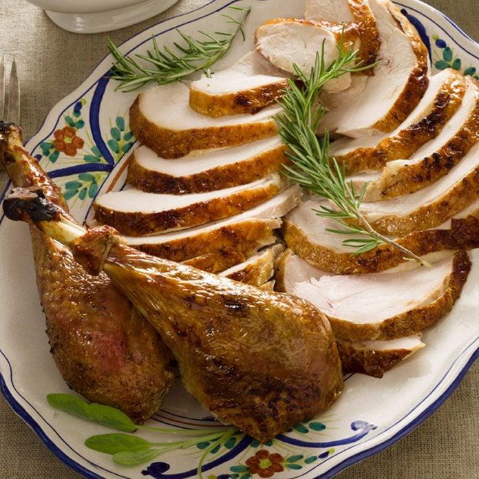 Fresh Herb Brined Turkey