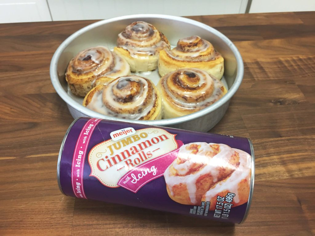 We Tried 4 Popular Brands Of Packaged Cinnamon Rolls And