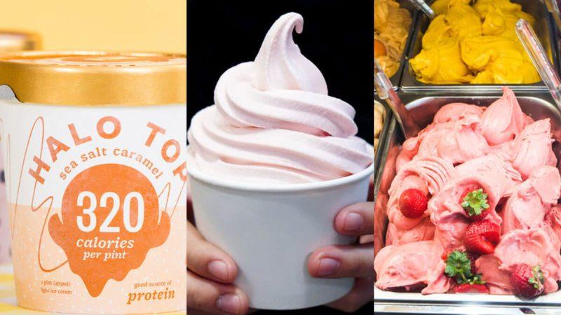 Frozen Yogurt, Gelato or Low-Fat Ice Cream: Which Is Healthiest?