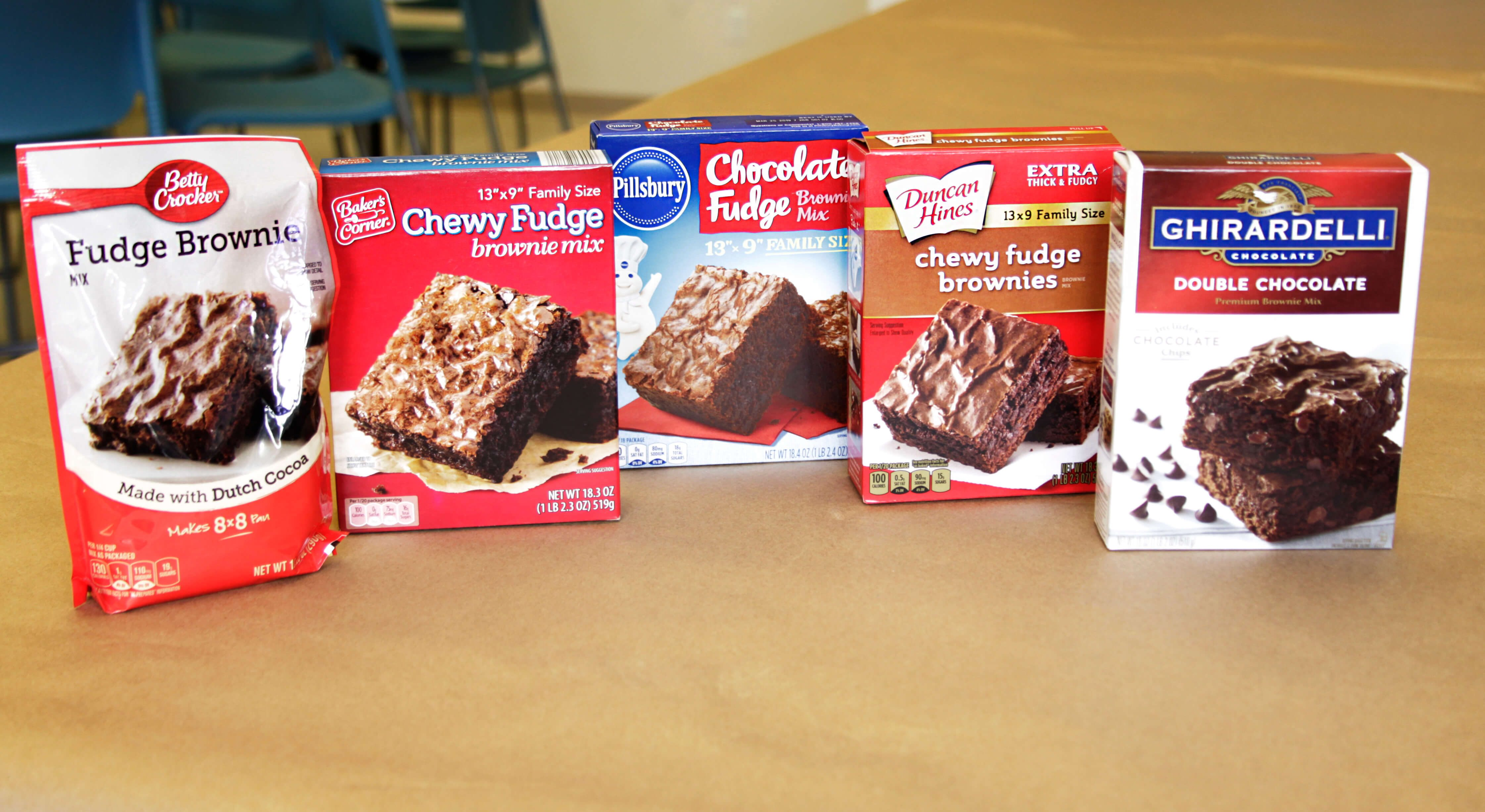 looking for the best brownie mix we tested 5 popular brands