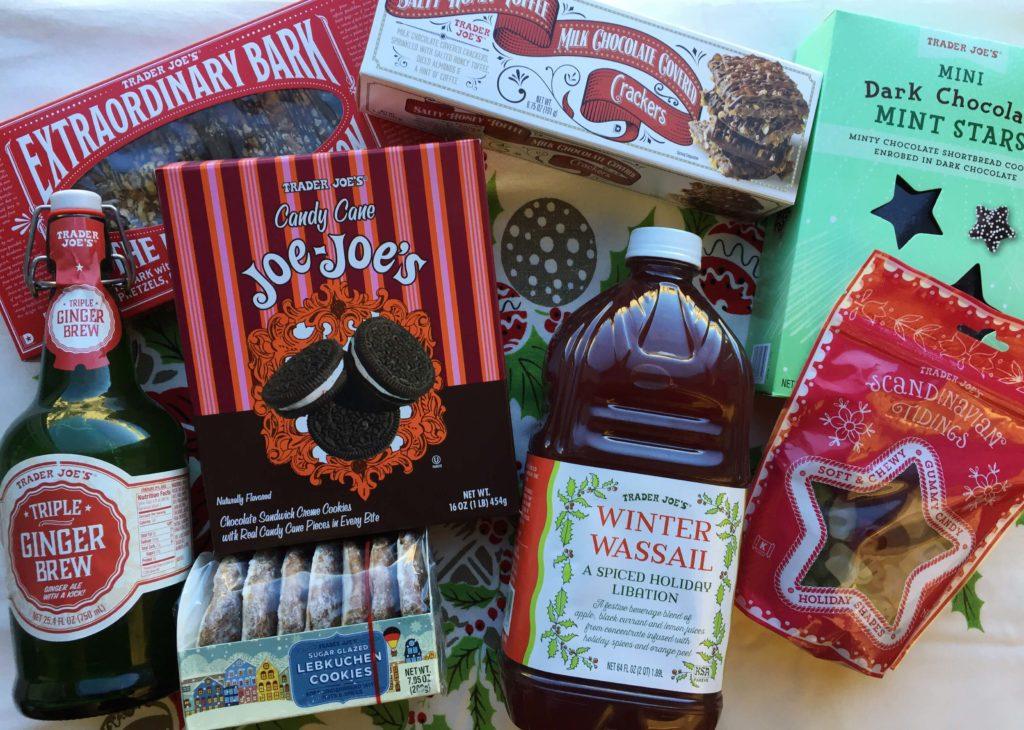 Trader Joe snack foods