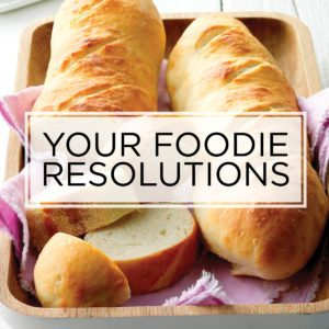 29 New Year's Resolutions for Food Lovers