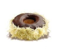 dunkin' donuts black cheese doughnut from indonesia