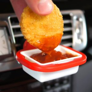 This Dipping Sauce Holder Will Change the Way You Eat Chicken Nuggets for Good