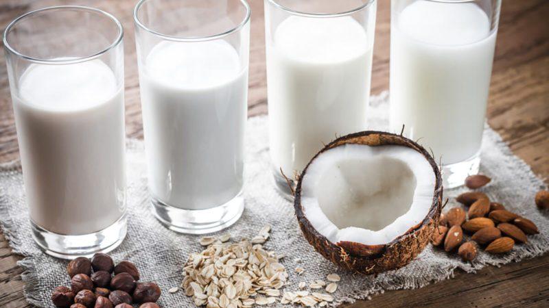 lactose-free milk/coconut milk