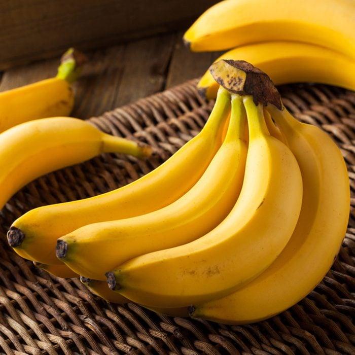 Raw Organic Bunch of Bananas Ready to Eat; Shutterstock ID 375477457