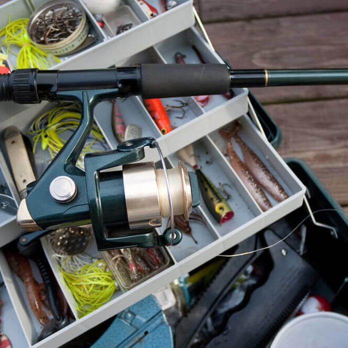 Fishing pole and tackle