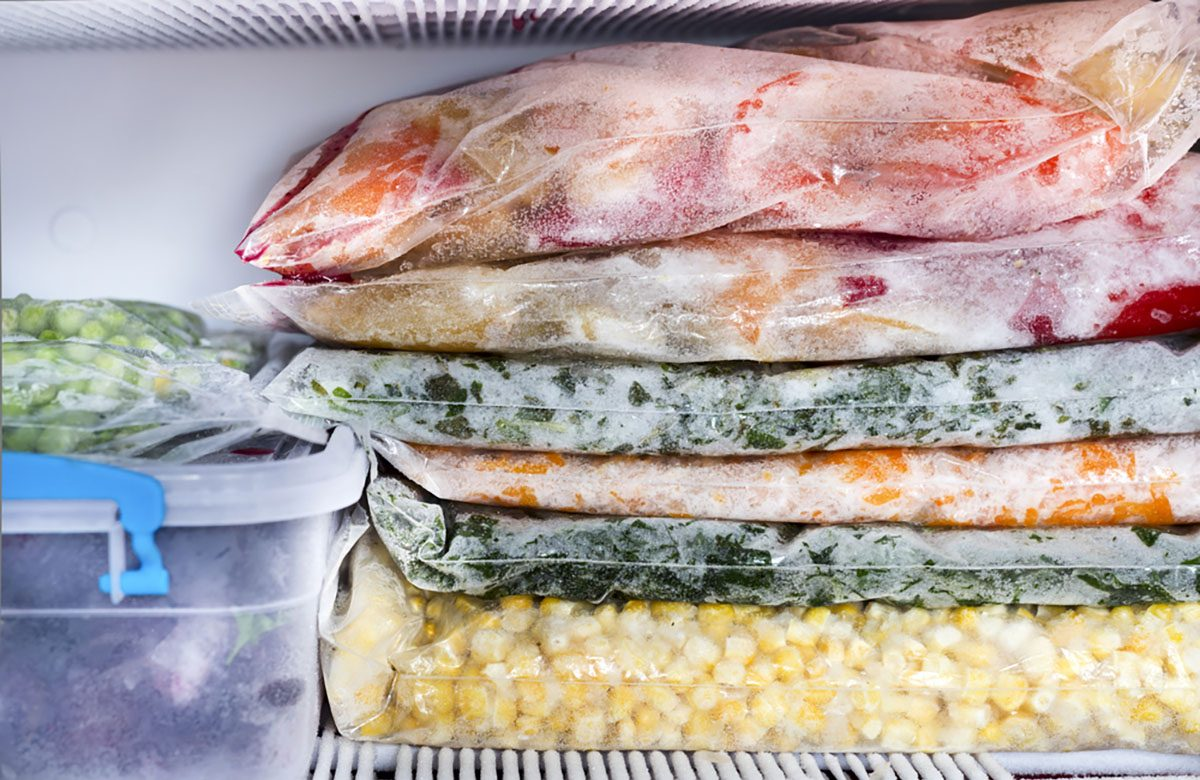 Is It Safe To Eat Frozen Food With Ice Crystals