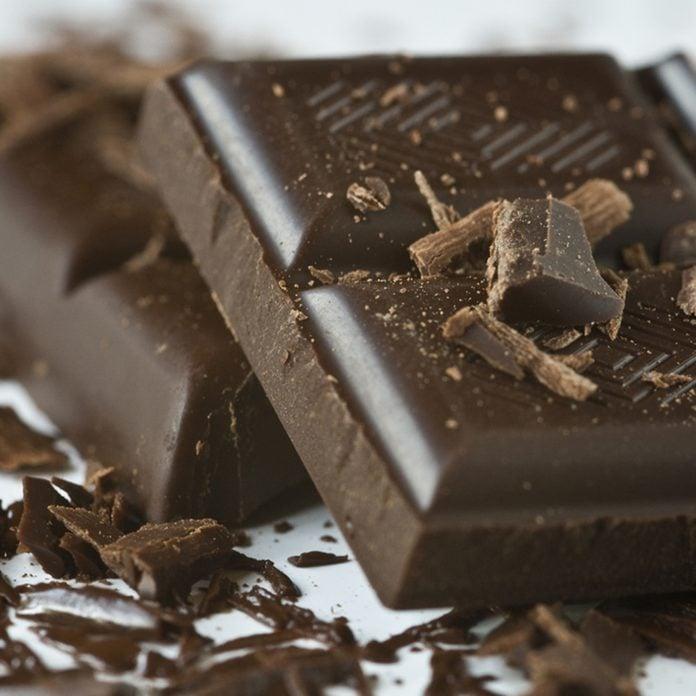 Dark chocolate; Shutterstock ID 98252645